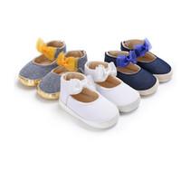 bébé garçon chaussures pre walker achat en gros de-PUDCOCO Nouveau-né Bébé Garçon Fille Pré Walker Semelle Souple Blanc Pram Chaussures Baskets Taille 0-18 M