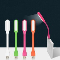 Wholesale light portable power bank for sale – best Creative USB Fan Flexible Portable Mini Fan and USB LED Light Lamp For Power Bank Notebook Computer Gadget