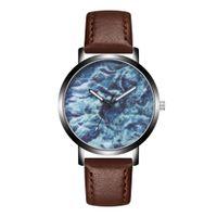 человек смотрит новый дизайн оптовых-GEMIXI 2019 NEW Fashion Casual And New Design Fashion Man Crystal Leather Analog Quartz Wrist Watch Apr.