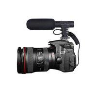 cámara de grabación de vídeo profesional al por mayor-Nuevo MIC-05 Micrófono de entrevista profesional Cámara hipercardioide Vídeo para exteriores Grabación de alta fidelidad Sonido HD de 3,5 mm Jack Micrófono Micrófono