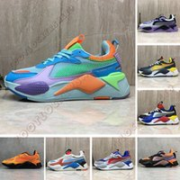 Wholesale boy toys table resale online - Best Quality RS X Toys Reinvention Athletic Shoes Fashion Cool Men Women Running Basketball Trainer Casual Designer Sneakers Size