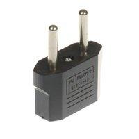 евро адаптеры оптовых-Конвертер адаптер США / AU / EU в ЕС Plug евро Европа путешествия стены переменного тока зарядное устройство розетка адаптер конвертер для зарядного устройства
