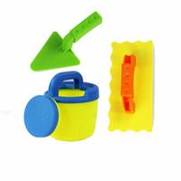 Wholesale water shovel for sale - Group buy 3Pcs Beach Sand Toy Tool Set Models Sandbeach Tools Kids Outdoor Play Toy Beach Spade Shovel Rake Water Toys A889