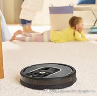 filtro de fabricantes venda por atacado-Barato iRobot Roomba 960 Robotic Aspirador de pó Wi-Fi Conectividade Fabricantes Garantia Extra Sidebrush Extra Filtro Bundle Outlet Online