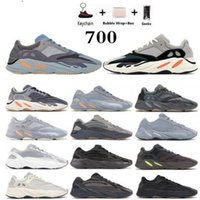 Wholesale best men trainers resale online - kanye west Mnvn black trainers women sport shoes Running Shoes best quality shoe Orange Black Reflective Men Sneakers