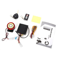 Wholesale security system alarm free shipping for sale - Group buy 9 V Professional Waterproof Anti theft Motorcycle Security Remote Driving Alarm System with Key Automatic Engine Startfree