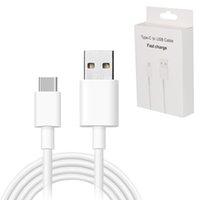 ladekabel 2m großhandel-Typ C Kabel Micro-USB-Kabel für Samsung S10 S9 S8 Xiaomi Huawei p30 pro Schnelllade USBC Ladegerät USBC 1M 2M 3M