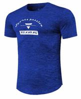 mann tank t-shirts großhandel-Herren Laufweste Atmungsaktiv Sport Shirts Ärmellose Kompressionsstrumpfhose Gym Tank Top Fitness Sport T-shirt Plus Größe S-2XL