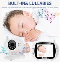 Wholesale 3 inch Video Wireless Baby Monitor VOX Security Camera Nanny IR Night Vision Voice Call Babyphone With Temperature Monitoring