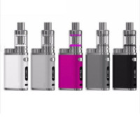 сигарета 5colors оптовых-Pico Starter Kit 5Colors Наборы для электронных сигарет 75 Вт 2 мл Melo 3 Мини-распылитель Tanks 1 Вт-75 Вт Vape Box Mod Набор электронных испарителей сигарет E Pen E