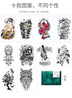 Wholesale sexy small tattoos for sale - Group buy Long lasting simulation of small sexy cute Tattoo Sticker pattern