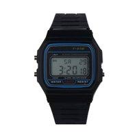 ingrosso orologio di allarme analogico-2018 moda analogico al quarzo allarme sportivo orologio da polso moda uomo digitale LED uomini orologi top marca di lusso relogio