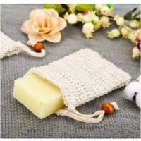 Wholesale loofah glove for sale - Group buy Soap Mesh Soap Foaming Net Bubble Mesh Bag Skin Bathroom Bath Brushes Sponges Scrubbers Clean Tools