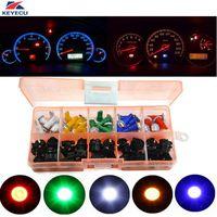 10x T5 B8.3D 5050 1SMD Car LED Dashboard Dash Gauge Instrument Light Bulbs UK