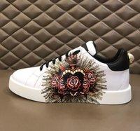 basketbol ayakkabıları orijinal toptan satış-Lüks tasarımcı ayakkabı mens chaussures hommes 10T01 Walking Gerçek Deri Flats basketbol kanye yıldızı Sneakers erkekler bağbozumu Franch Ayakkabı