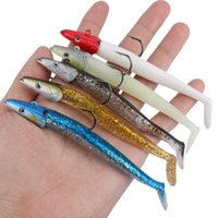 Wholesale soft head sea lure for sale - Group buy 5PCS Jig Head Soft Fish Lure in Sinking Bait g Fishing Swimbaits Sea Bass