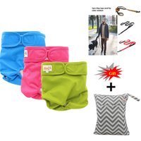 Wholesale underwear nappies resale online - 3Pack Female Dog Diapers Waterproof Dog Puppy Strap Physiological Pants Sanitary Durable Panties Underwear Doggie Nappies Cover