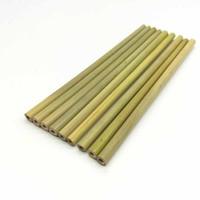 tubo de bebida al por mayor-Paja de bambú Paja de beber duradera reutilizable Productos ecológicos para alimentos y bebidas Productos de bambú de tubo de bambú hueco