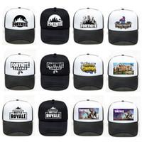 Fortnite Trucker Cap Hat Game Boys Girls men Snapback Summer mesh  Breathable Baseball Cap Hip Hop Visor Outdoor Hats streetwear 2019 25d5d9e36f10