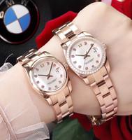 лучшие белые часы для женщин оптовых-Механические часы Daydate Watch Diamond Mark white Shell Dial Женские часы из нержавеющей стали Автоматические женские наручные часы Лучший подарок 31мм