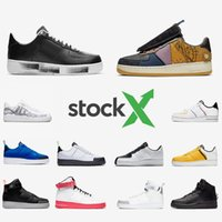 Nike Air force 1 shoes forced forcing one Stock X G Dragon Peaceminusone Para Noise Travis scott Mens Running Shoes 07 LV8 Under Construction 1s