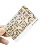 прозрачные пластиковые визитки оптовых-Настраиваемая печать ПВХ глянцевая / пластик Визитная карточка / Матовый Очистить Пластиковые карты