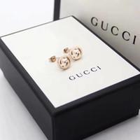 Wholesale silver bracelets numbers 925 resale online - Women s classic design jewelry designers brands earrings original box Pandora sterling silver women s fashion earrings