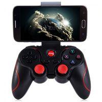 jogo android para pc venda por atacado-Telefones sem fio Bluetooth Gamepad STB PS3 VR Jogo Joystick Controlador Para Android IOS móveis PC Game Handle