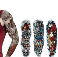 gefälschte tätowierungen sexy großhandel-Mee_You Frauen Männer Unisex Wasserdicht Temporäre Tattoos Aufkleber Body Art Fake Tattoos Transfer Aufkleber Sexy Arm Aufkleber Abnehmbare QT0001