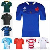 jérsei de rugby da argentina venda por atacado-2019 Fiji Camisa Rugby Nova Zelândia Camisa 19 20 Japão Copa do Mundo África Austrália South Wales Argentina Samoa Rugby Jersey s-3xl