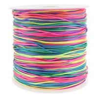 ingrosso corda in nylon di bracciale-350 m / bobina 1.2mm filo di nylon filo nodo cinese Macrame cordone braccialetto intrecciato stringa fai da te multicolore nappa perline stringa filo