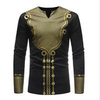 schwarze langarm muskel t-shirts großhandel-Mode Herren Sommer Pullover Slim Fit V-Ausschnitt Langarm Muscle T-Shirt Lässige Stretch Tops Bluse Schwarz Weiß