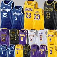 camiseta de baloncesto james al por mayor-Crenshaw 23 LeBron James Universidad de New NCAA 3 Anthony Davis Jersey para hombre 6 jerseys del baloncesto James S-XXL