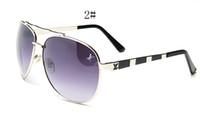 ingrosso occhiali da sole firmati specchio italia-Moda 2019 grande ape occhiali da sole per donna uomo italia famoso designer occhiali da sole moda occhiali stile occhiali occhiali da sole specchio occhiali