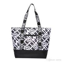 pembe anime toptan satış-Son Marka tasarımcı lüks çanta çantalar Kadınlar için Tote Pembe Naylon Tasarımcı çanta Bayanlar Çanta Ana kesesi kesesi