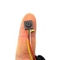 ingrosso micro macchina fotografica fpv-Mini macchina fotografica 700TVL audio 8mm x 8mm piccola videocamera analogica micro mini cvbs cctv FPV per quadricottero