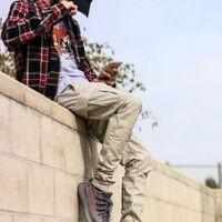 frauen schwarze ladung hose groihandel-19SS Fear Of God ESSENTIALS Kordelzug CARGO Hosen FOG Retro High Street Fashion Casual Männer Und Frauen Paar Schwarze Hose HFSSKZ081