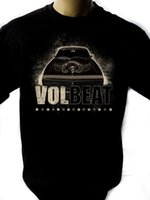 Wholesale new loom bands online - VOLBEAT Band Black New T Shirt Fruit of the Loom ALL SIZES Custom t shirt logo text photo Mens Womens T shirt men