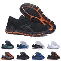 hombres zapatillas de gel al por mayor-Nuevo GEL-Quantum 360 SHIFT Estabilidad Zapatillas de correr transpirables para hombres verde negro blanco azul para hombre entrenador zapatillas deportivas de moda