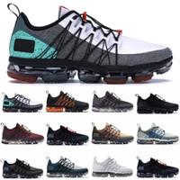 614d176f170 Brand New Run Utilitário de Designer de Sapatos Pretos Refletir Mens Prata  Sapatos De Grife Triplo Branco Médio Azeitona Prata Luz Tênis Tamanho 40-45
