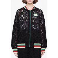 erkek danteli ceket toptan satış-19ss erkek tasarımcı denim Ceketler Lüks İtalya Paris Dantel mektup nakış Metal fermuar Yaka Boyun ceket Erkek Kadın etiketi ...