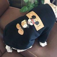 ingrosso cappuccio extra grande-Vestiti per cani felpe per cani vestiti per animali domestici per cani giacche in cotone una generazione di legge che combatte abbigliamento per animali domestici girocollo lettera coreana