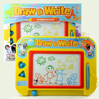 Wholesale tablets for business resale online - Draw Board Colorful Drawing and Writing Tablet Draw a Write Graphic Board Handwriting Bulletin Board for Education Business
