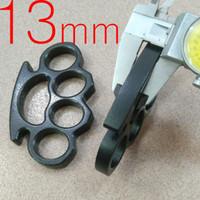 jointures en laiton achat en gros de-Grande taille Épaisseur 13 mm acier Laiton poing américain épaisse boucle main Fitness Équipement Knuckles 1pc