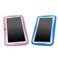 kinder rosa tabletten großhandel-2 PC-7-Zoll-Kinder-Tablet Android Dual-Kamera WiFi Bildung Spiel Geschenk für Junge Mädchen US-Stecker, Rosa Blau