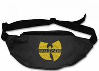 Wholesale waist phone holder for running resale online - Wu Tang Clan Unisex fannypack Waist bag Phone Holder Adjustable Running Belt For Cycling Hiking Gym belt bag