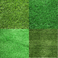 Wholesale artificial grasses for sale - Group buy Home Floor Wedding Decoration cm cm Green Grass Mat Green Artificial Lawns Small Turf Carpets Fake Sod Home Garden Moss DH0441