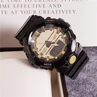 alarme de data venda por atacado-GA800 GW9400 estilo G relógio dos homens esportes relógio digital LED data militar ao ar livre à prova d 'água de alarme frete grátis