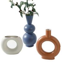 vases faits à la main achat en gros de-Vase à fleurs de mariage salon décoration maison bureau vin armoire fait à la main vase