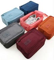 caisses à chaussures achat en gros de-Sac de chaussure de football étanche Botte de voyage Rugby Sport Gym Carry Case Storage Box